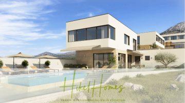 Schlüsselfertige Villa ENTICE mit Pool / Klima / Heizung & Meerblick, 21220 Seget Vranjica, Villa